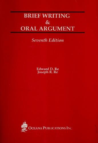 Brief writing & oral argument