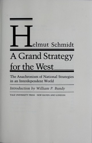 Download A grand strategy for the West