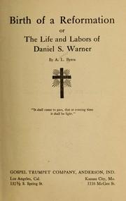 Birth of a reformation PDF