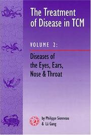 The treatment of disease in TCM by Philippe Sionneau