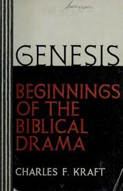 Genesis: beginnings of the Biblical drama PDF