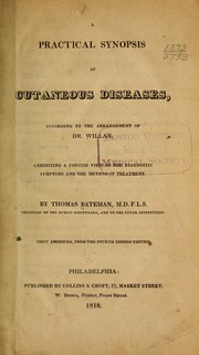 A practical synopsis of cutaneous diseases by Bateman, Thomas