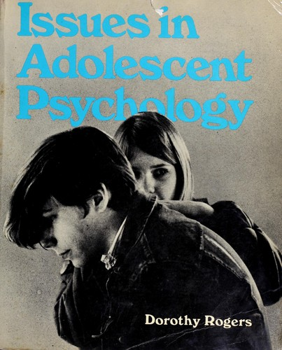Download Issues in adolescent psychology.