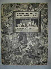 Drawing with pen and ink by Arthur L. Guptill