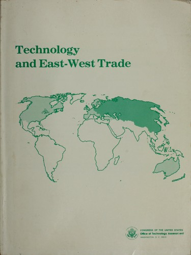 Download Technology and East-West trade.