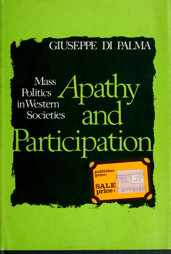 Apathy and participation