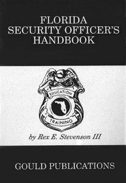 Florida Security Officer's Handbook PDF