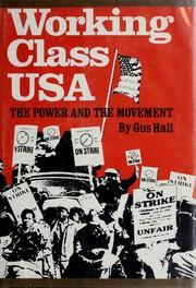 Working class USA PDF