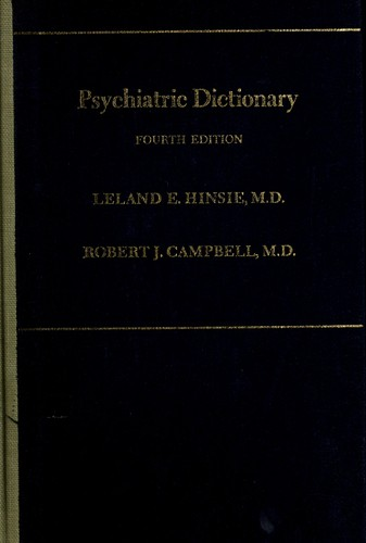 Download Psychiatric dictionary