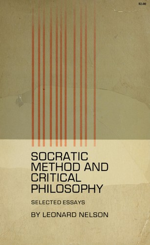 Download Socratic method and critical philosophy