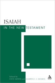 Cover of: Isaiah in the New Testament by