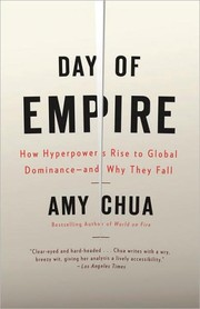 Cover of: Day of empire by Amy Chua