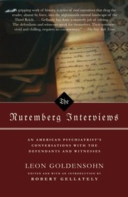 Cover of: The Nuremberg Interviews by