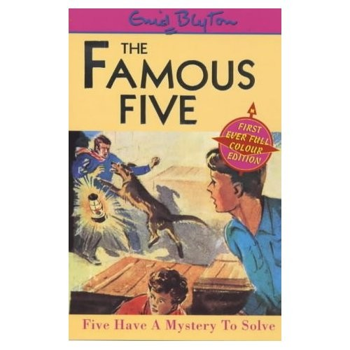 Five Have a Mystery to Solve (Famous Five) by 
