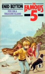 Download Enid Blyton's Five on a treasure island.