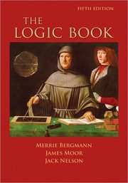 Cover of: The logic book by Merrie Bergmann