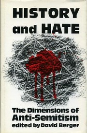Cover of: History and Hate by David Berger