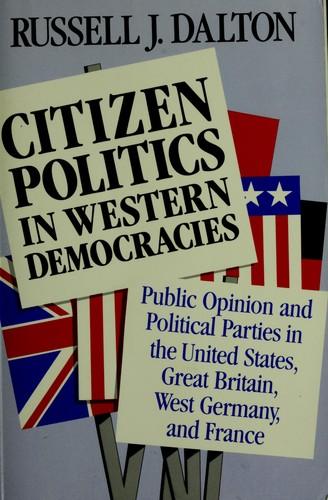 Citizen politics in western democracies