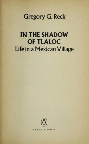 Download In the shadow of Tlaloc