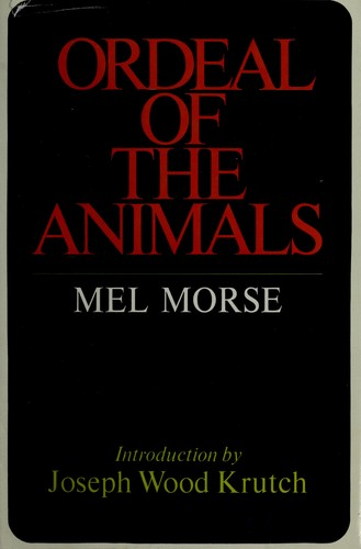 Download Ordeal of the animals.