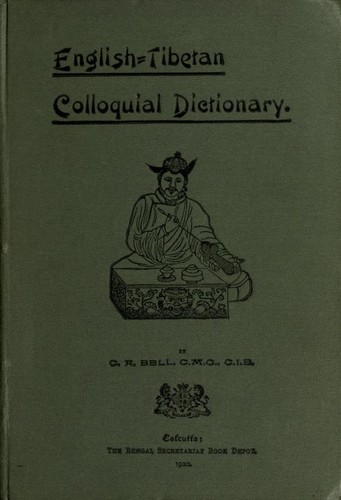 Download English=Tibetan Colloquial Dictionary.