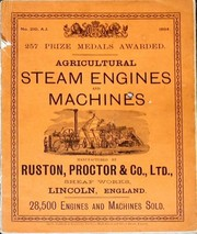Cover of: Agricultural Steam Engines and Machines by Ruston, Proctor & Co. Limited
