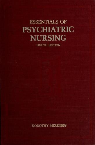 Download Essentials of psychiatric nursing.