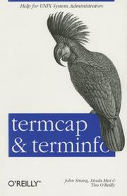 Termcap and terminfo by Strang, John