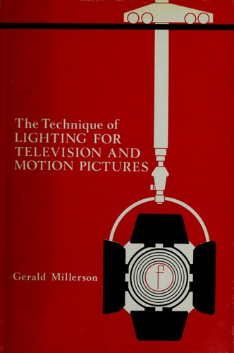 The technique of lighting for television and motion pictures.
