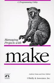 Managing projects with Make by Andrew Oram