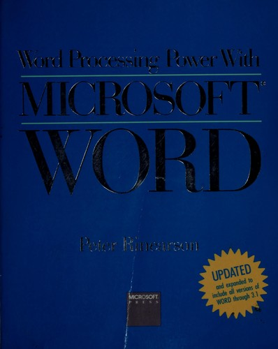 Word processing power with Microsoft Word
