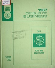 Census of business by United States. Bureau of the Census