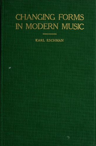 Changing forms in modern music