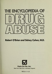 The encyclopedia of drug abuse PDF