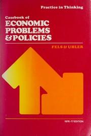 Casebook of economic problems & policies PDF