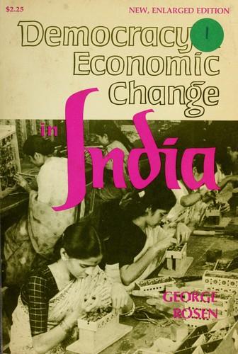 Democracy and economic change in India.