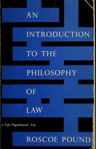 An introduction to the philosophy of law.