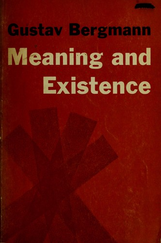 Download Meaning and existence.