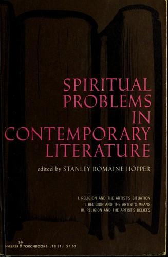 Download Spiritual problems in contemporary literature