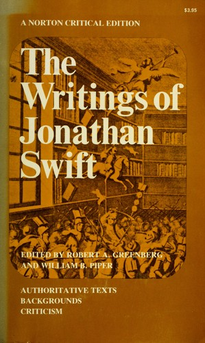 Download The writings of Jonathan Swift