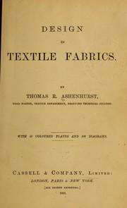 Design in textile fabrics PDF