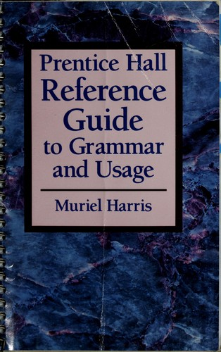 Download Prentice Hall reference guide to grammar and usage