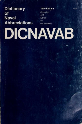 Dictionary of naval abbreviations.