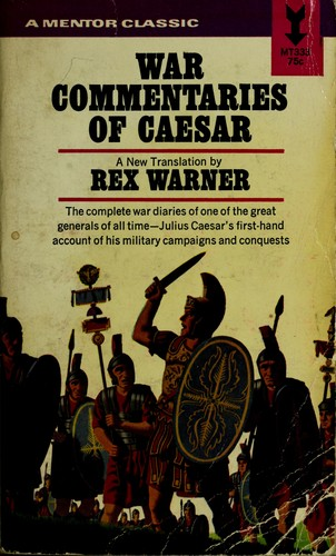 War commentaries of Caesar.