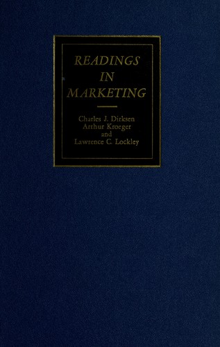 Download Readings in marketing.