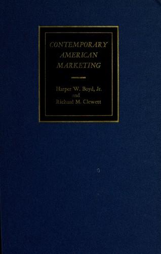 Download Contemporary American marketing