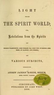 Light from the spirit world PDF