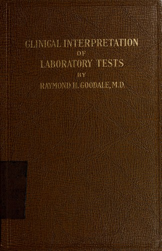 Clinical interpretation of laboratory tests.