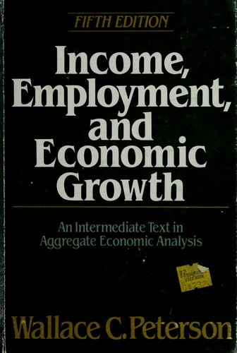 Download Income, employment, and economic growth