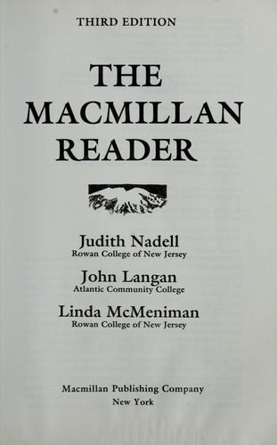 Download The Macmillan reader